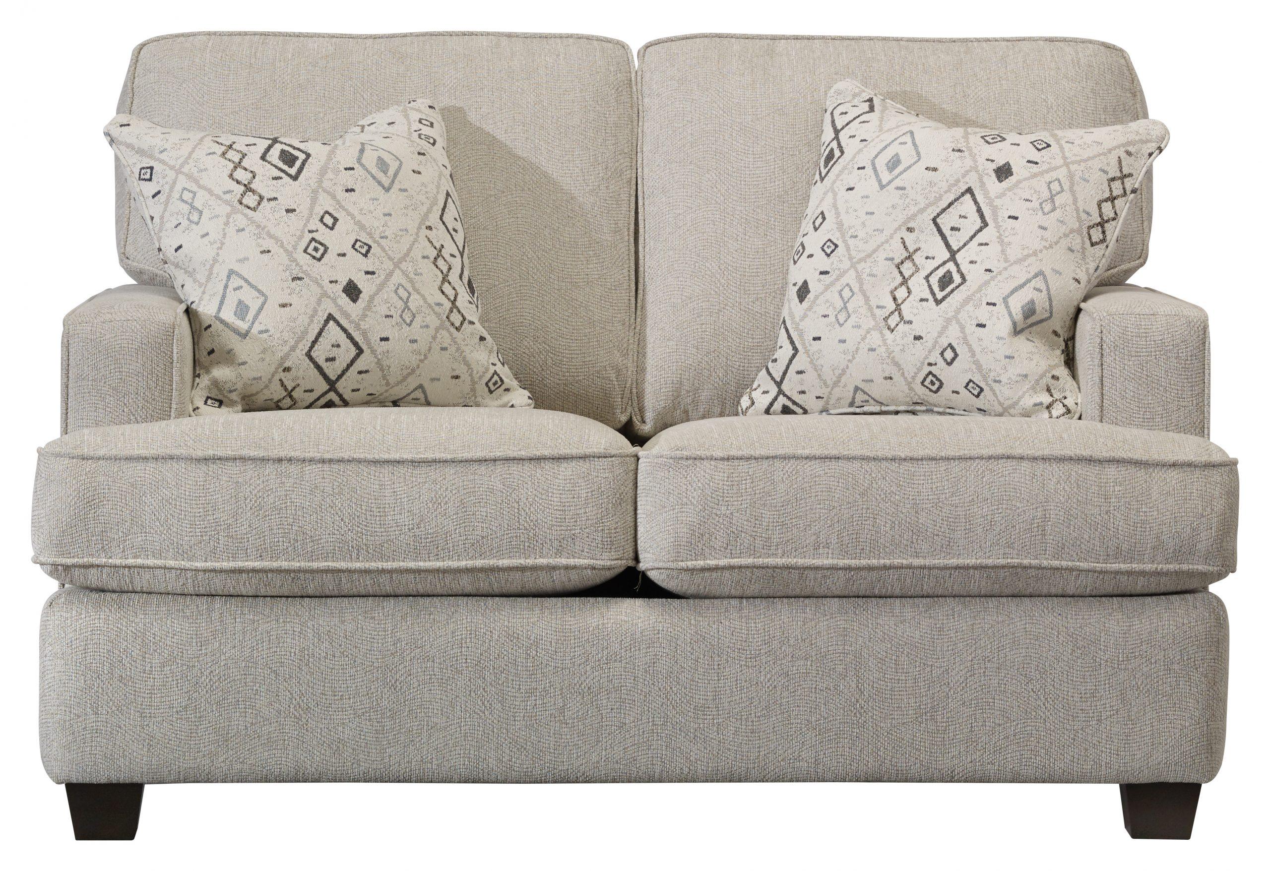 Struttura Ivory Loveseat - GP Home Furniture